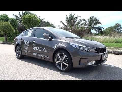 2017 Kia Cerato 1.6 SX Start-Up and Full Vehicle Tour