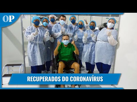Pacientes recuperados do coronavírus no Brasil