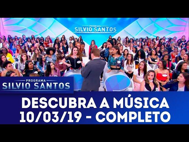Descubra a Música | Programa Silvio Santos (10/03/18)