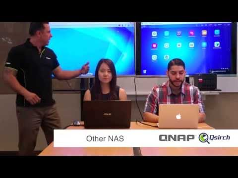 """Side by side Speed Test of QNAP vs """"Other"""" NAS The Search Race!"""