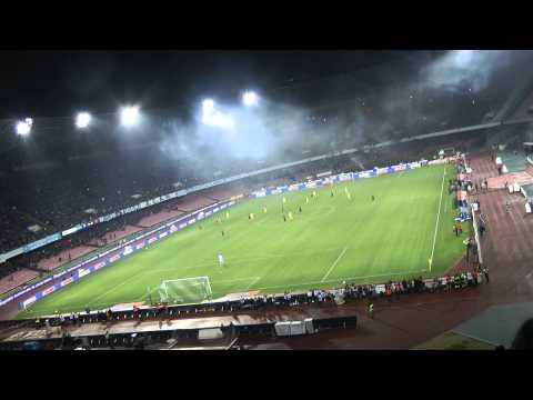 Napoli-Roma 3-0 12-02-2014 Gol Jorginho Live in HD dalla Curva B