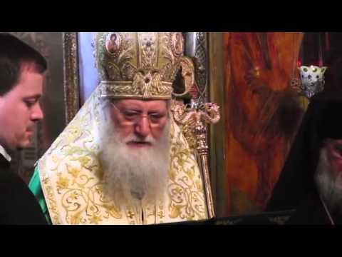 Sofia Patriarch visiting Russian Orthodox Church