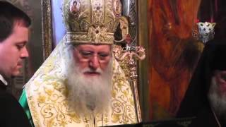 Sofia Patriarch visiting Russian Orthodox Church