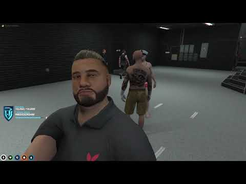 Download Roundy Bullet Takes On Eddie In a Gallery Cage Fight | NoPixel Main Server