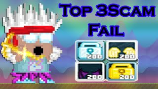 GrowTopia | TOP 3SCAM FAIL [200Angel - 200DL - G ANGEL]