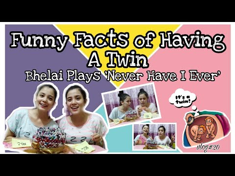 Видео: Funny Facts Of Having A Twin | BheLai Plays 'Never Have I Ever'  (Filipino Version)