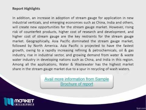 Worldwide Stream Gauge market Trends