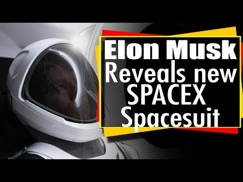 Elon Musk reveals new SpaceX space suit - Spacex Spacesuit revealed