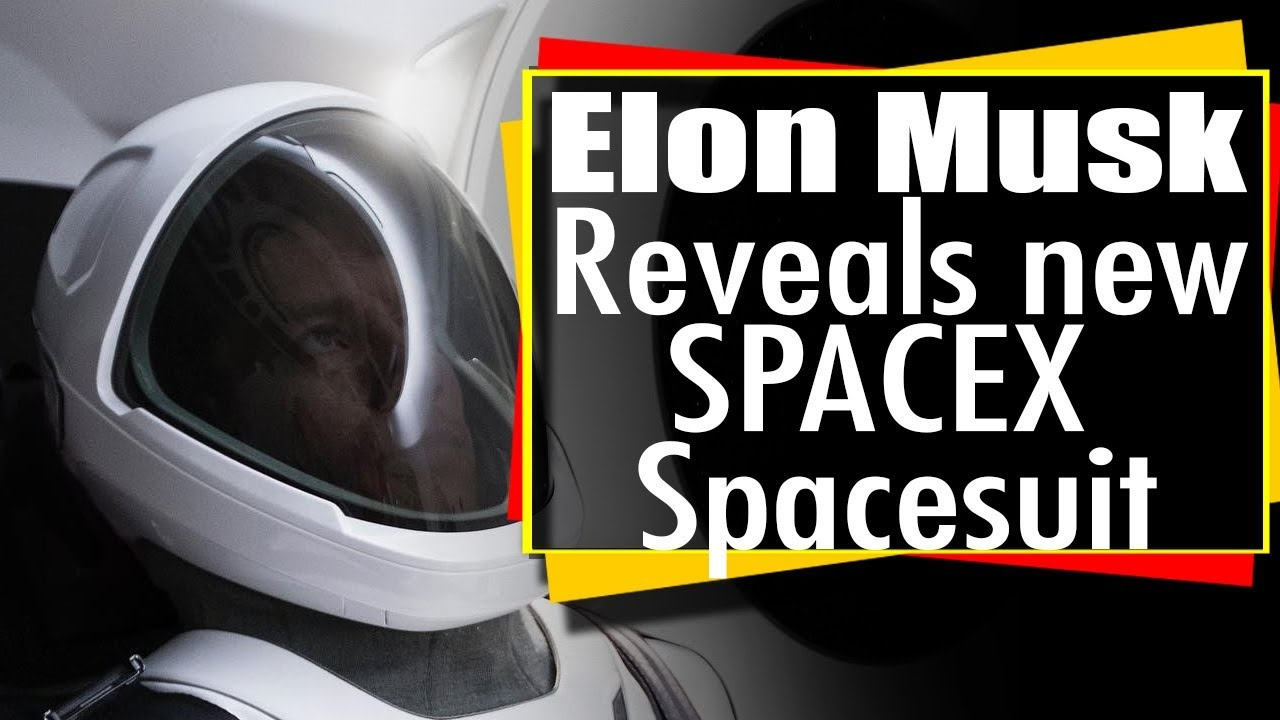 Elon Musk reveals new SpaceX space suit - Spacex Spacesuit ...