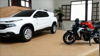 MINIATURAS DE MOTOS E CARROS TOP!