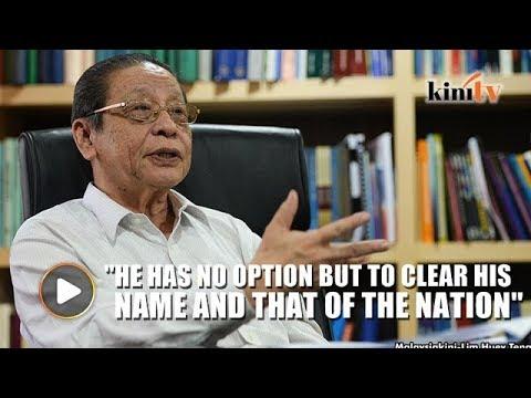 Kit Siang: Will Najib take action on international media that called him a thief?