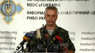 (english) Andriy Lysenko (evening). Ukraine Crisis Media Center, 1st Of August 2014