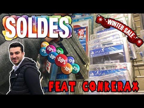 Les SOLDES jeux video d'hiver 2018 - LIVE FEAT CONKERAX