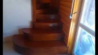 Деревянные лестницы(Деревянные лестницы в Киеве, изготовление, реализация, цены, фото. Комплектующие для деревянных лестниц..., 2015-04-10T18:23:26.000Z)