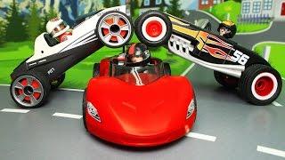 Мультики про машинки все серии подряд без остановки! Мультфильмы для детей развивающие про машинки!