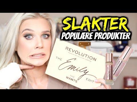 TESTER Populære Makeup Revolution produkter..