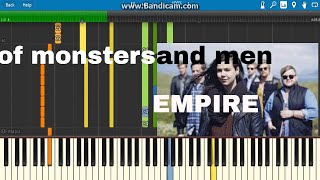Empire- of monsters and men(how to)piano