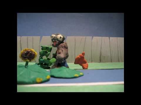 Plants Vs Zombies Claymation Pool Youtube