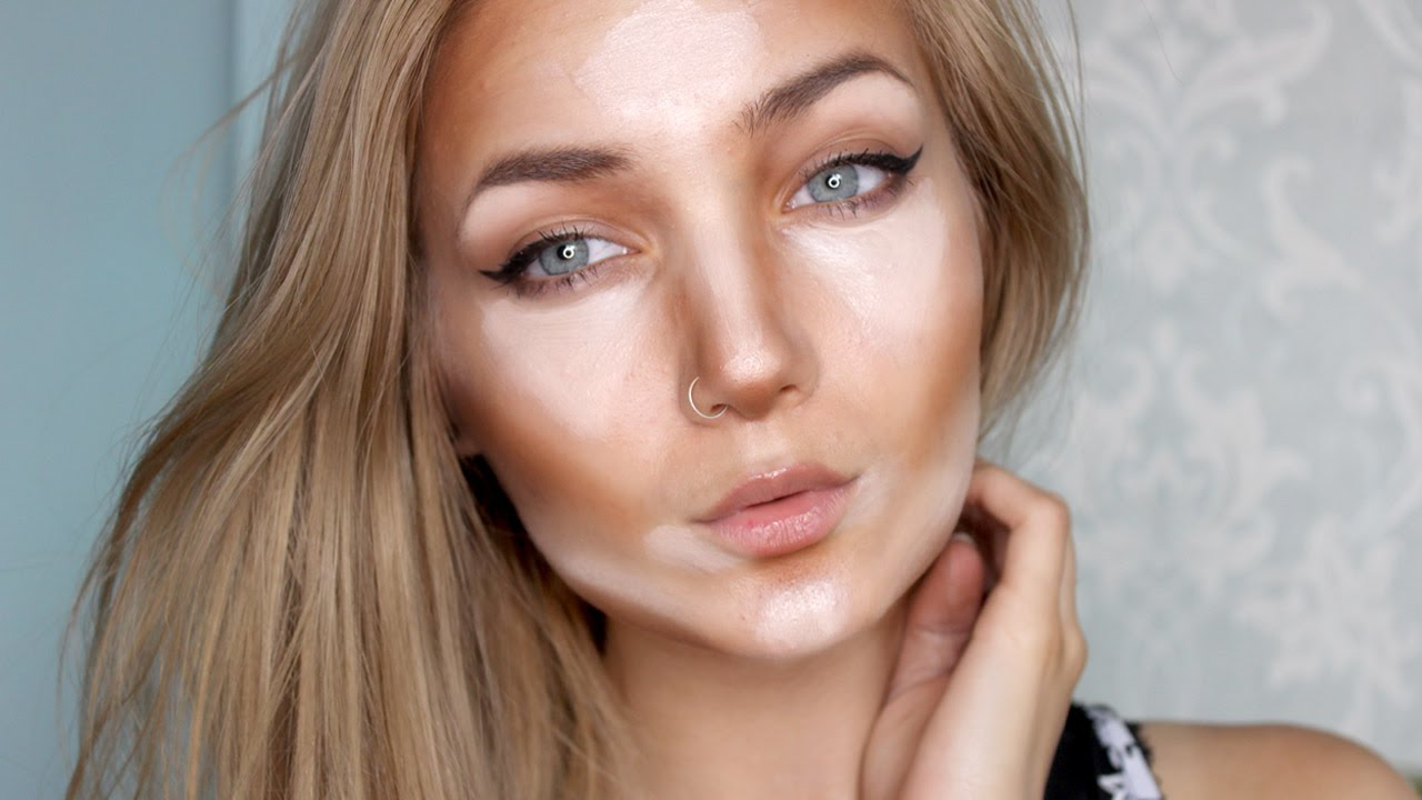 How to Contour and Highlight || For Beginners - YouTube