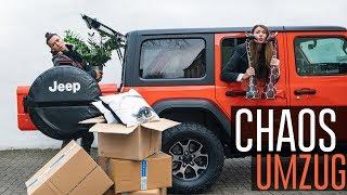 KOMPLETTER CHAOS UMZUG | VLOG #64