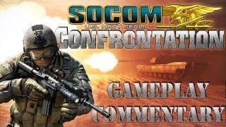 SOCOM Confrontation - Demolition - M4A1 - STG 77 - No Respawn Server [Gameplay/ Commentary]
