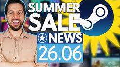 Steam Summer Sale: Start mit Bonus-Rabatt ab 30€ - News