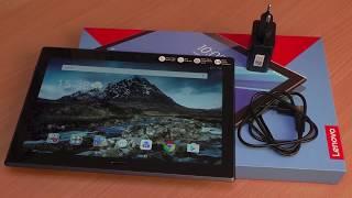 Розпакування Lenovo Tab 10 4 Plus