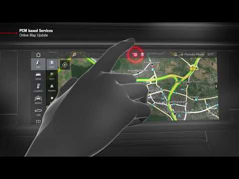 """How to Video Panamera (G2)  """"PCM based Services - Online Map Update"""""""