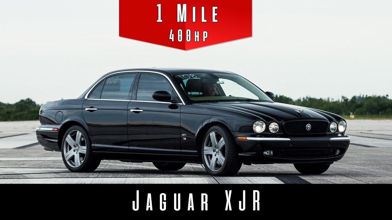 2006 Jaguar XJR Standing Mile