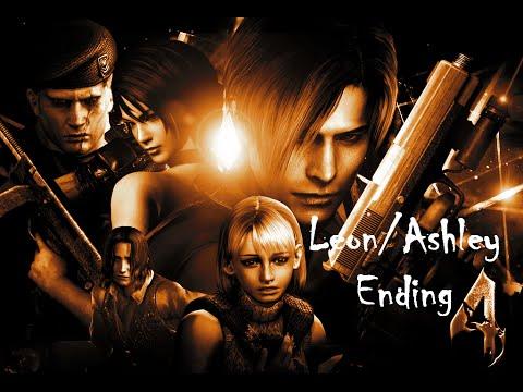Resident Evil 4 - Walkthrough Gameplay - Spain - Leon/Ashley Ending