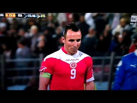 Michael Mifsud Penalty Malta Italy