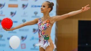 Художественная гимнастика. Дарья Приданникова. Мяч