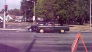 1966 or 67 pro street pick up truck