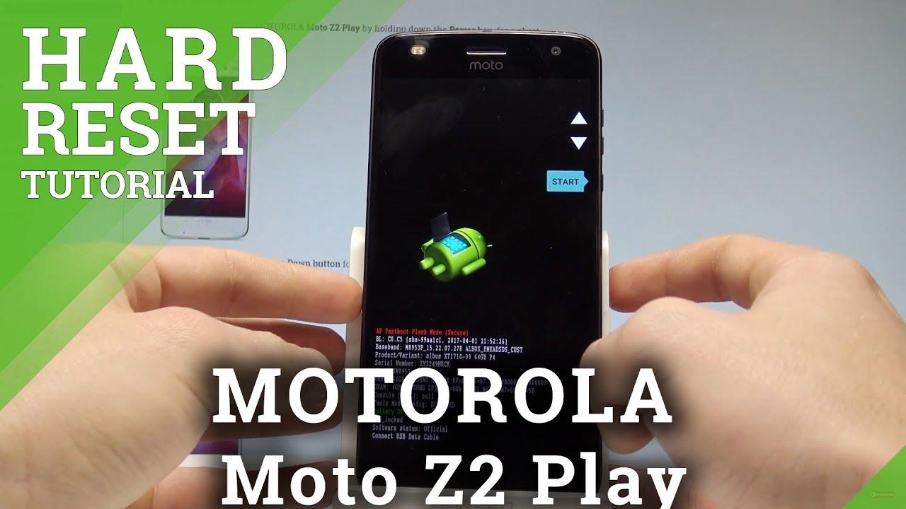 Hard Reset MOTOROLA Moto Z3 Play - HardReset info