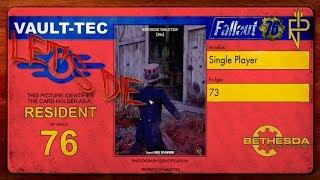 Let's Die Fallout 76   Single Player #73 Beruhigungspillen für die Brandbestien?