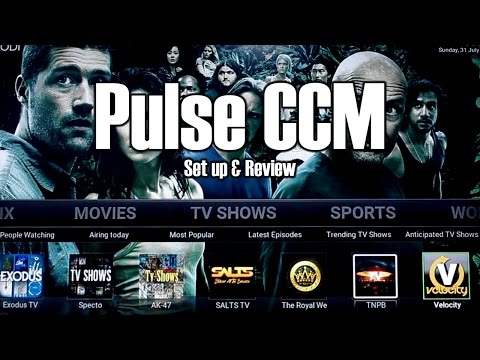New Pulse CCM Build Set Up and Review 2016  Kodi 16.1 Ares Wizard