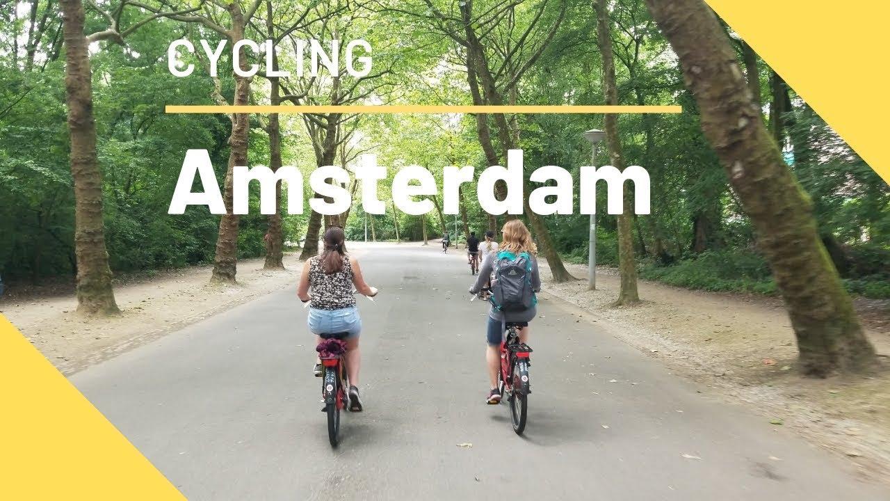Amsterdam Vondelpark Timelaps