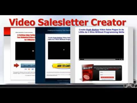 Video Sales Letter Creates Video Lead Capture Pages Quickly Make
