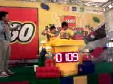 การแข่งขันต่อ lego ของต้นโมก