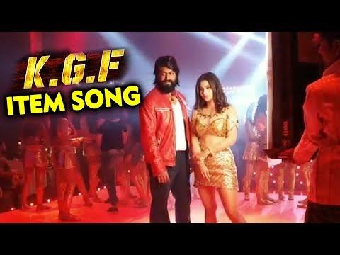 KGF Star Yash With Mouni Roy | ITEM SONG SHOOT | Kolar Gold Fields