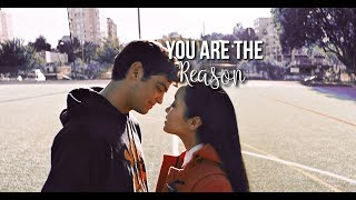 lara jean & peter | you are the reason