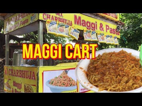 Butter Maggi Noodles ~ Every Indian's Favourite ❣ Street Food