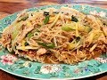 S2Ep28-Hawaiian Style Cake Noodles with Shredded Pork and Yellow Chives 夏威夷式肉絲韭黃煎麵餅