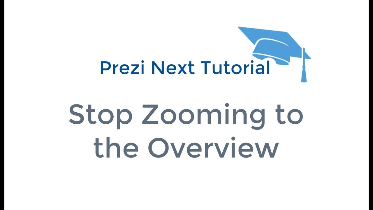 Stop Zooming Out to the Overview | TeachMePrezi