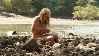 coconut crotch water   naked and afraid