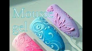 MOUSSE nail art tutorial by Pablo Rozz
