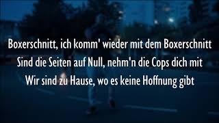 MERT ABI - BOXERSCHNITT (Official HQ Lyrics) (Text)