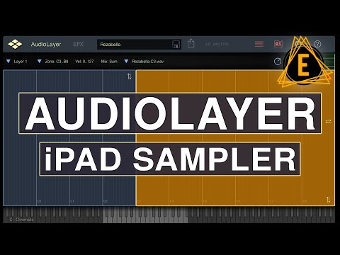 Awesome Sampler For iPad! - (VirSyn AudioLayer)
