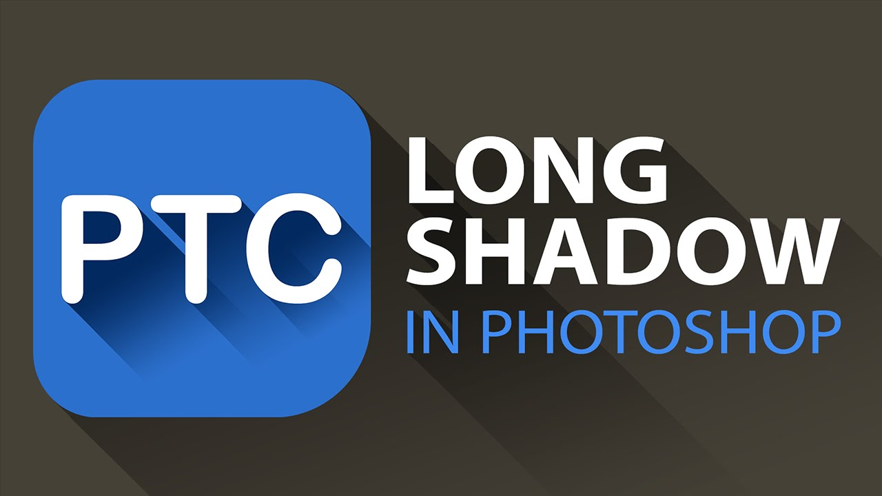 Long Shadow Effect in Photoshop
