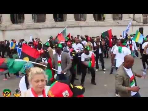 Best Biafra Hero's Day Musical Dance Step IN Washington DC